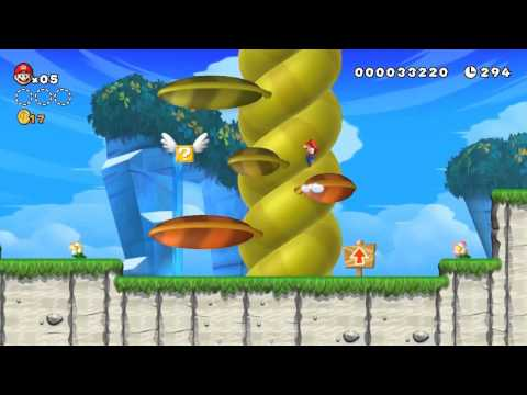 YogTrailers - Super Mario Bros WiiU
