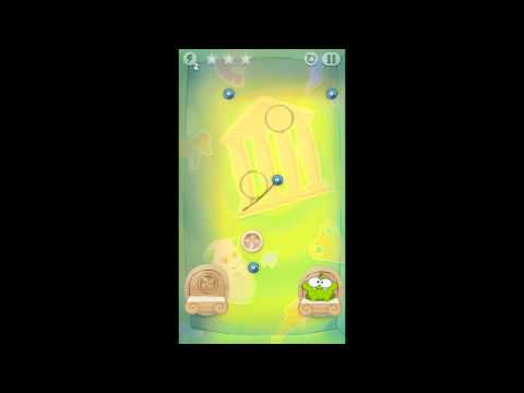 Cut the Rope: Time Travel - Level 5-4 - Ancient Greece - 3 Star Walkthrough