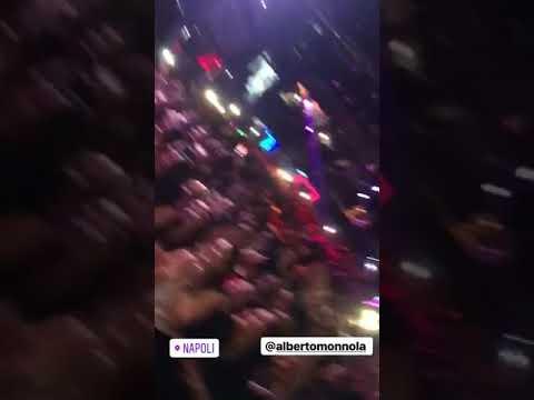 Anthony - io ti porto via - video live 2018
