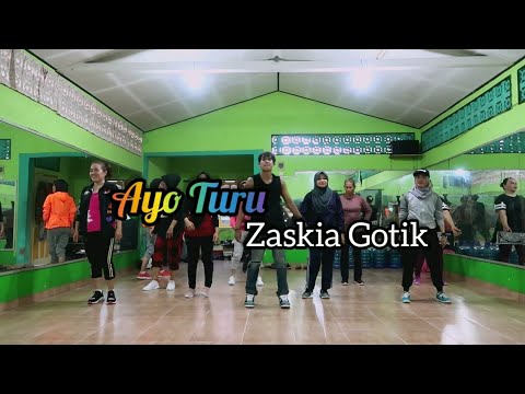 Download Zaskia Gotik - Ayo Turu | DANGDUT | JOGET | ZUMBA | FITNESS | At RAD STUDIO PPU Mp4 baru