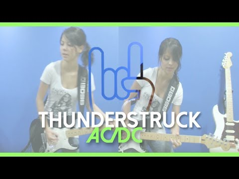 Juliana Vieira: Thunderstruck - AC/DC (Cover) + Solos