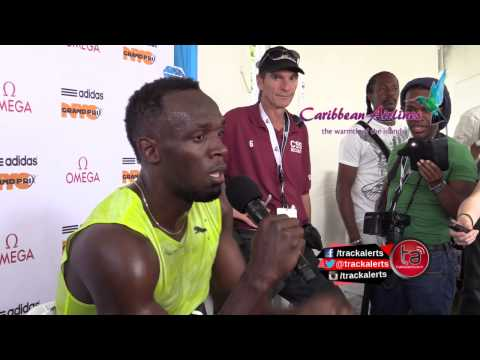 Usain Bolt remains unhappy with his 2015 season