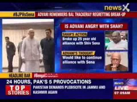 Lal Krishna Advani speaks for the first time after alliance break