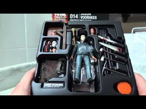 Revoltech - Jason Voorhees Friday the 13th Unbox e Review BR