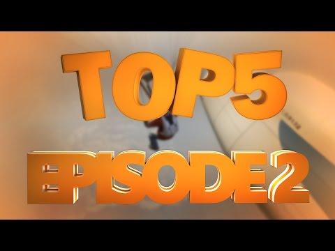 Top 5 Stunts Episode 2 - Evolve Stunting (GTA V, GTA IV, Sleeping Dogs)