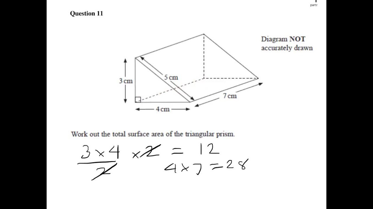 Displaying 20> Images For - Surface Area Of A Right Prism...