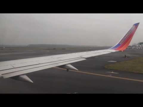 Southwest Airlines Flight 240 (PDX-OAK) Takeoff to Landing