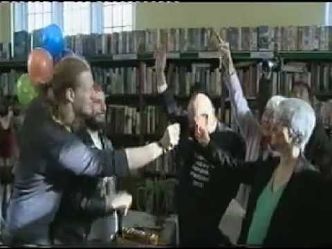 UK OCCUPY MOVEMENT saves The Friern Barnet Library (with Cat Brogan ) - Newsnight