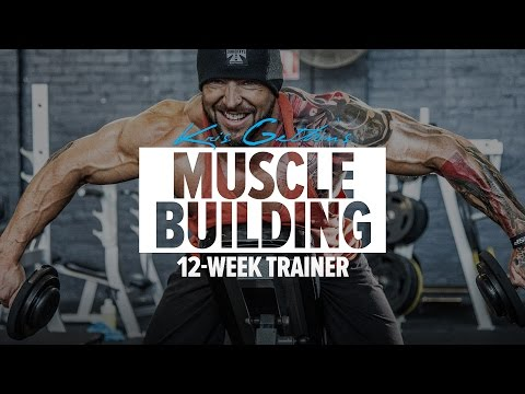 Kris Gethin Muscle Building Fitness app screenshot 1 for Android