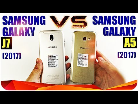 Samsung Galaxy A5 (2017) vs Samsung Galaxy J7 (2017) Кто победил?