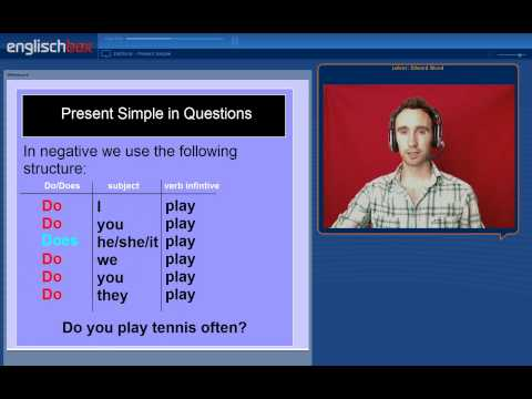 English Grammar | Present Simple Tense in English