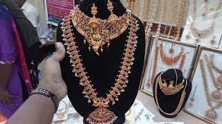 Immitation Jewellery collections with price in street shop sowcarpet / Low Cost and best quality