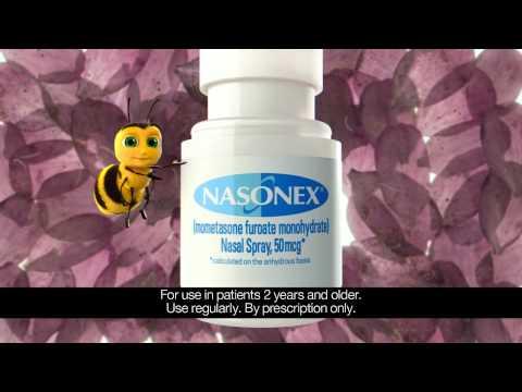 how to use nasonex spray