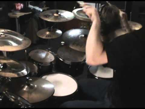 Obscura drummer plays Blotted Science Song