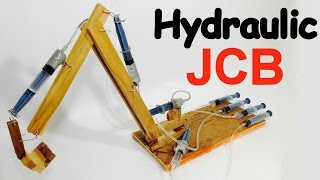 How to make JCB at Home easily | Backhoe | DIY Project