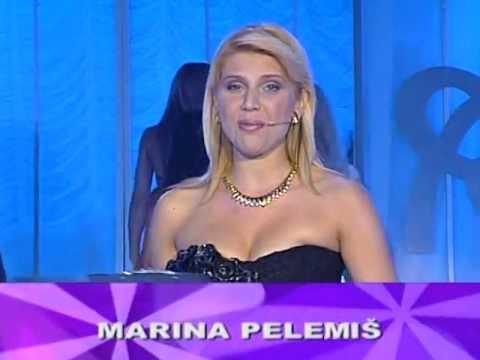 Marina Pelemiš - Dobro veče @ Miss BiH 2007
