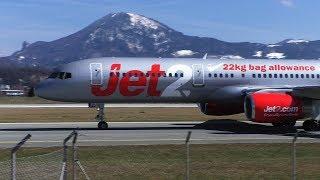 Download Lagu Jet2 Boeing 757 landing + taxi Salzburg Airport G-LSAH Gratis STAFABAND