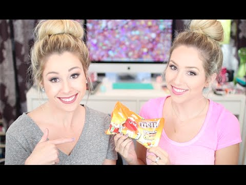 TASTE TEST | White Chocolate Candy Corn M&M's