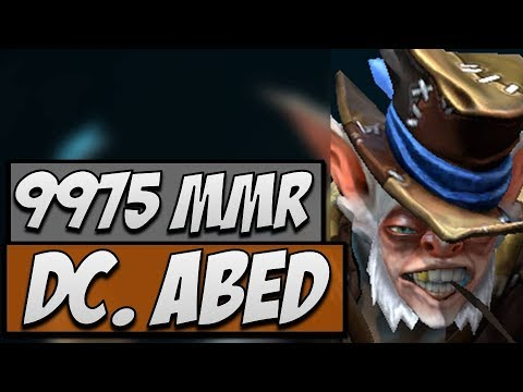 DC.Abed Meepo - Road to 10K MMR | Dota Gameplay 7.14