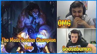 Streamers React to New Champion SYLAS - The Most Broken Champion (ft Yassuo, Hashinshin,..)