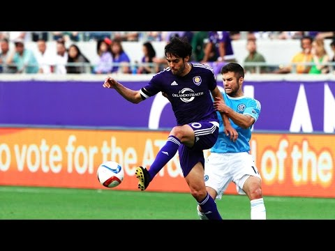 GOAL: Kaka free kick saves the day for Orlando City SC | Orlando City SC vs. New York City FC