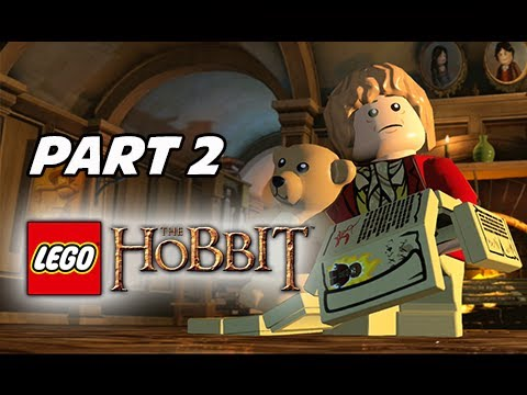 LEGO: The Hobbit Walkthrough Part 2 - Unexpected Journey (PS4 1080p Gameplay)