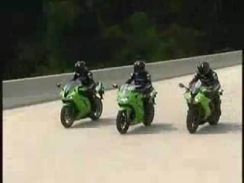 Superbike Kawasaki Ninja 250R Commercial