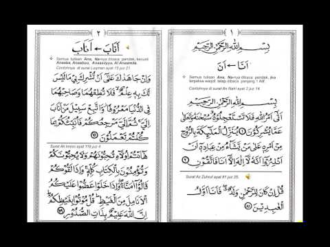 Tartil Metode Ummi GHORIB HAL 1- 2