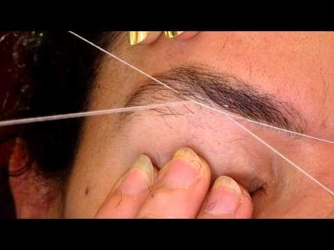 More brow threading with Lee (2)