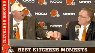 Best Moments from Freddie Kitchens' Press Conference | Cleveland Browns