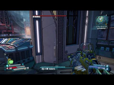 Borderlands: The Pre-Sequel - Gameplay Walkthrough Part 5 - RedBelly Boss Fight! (PC)
