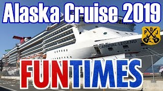 Carnival Legend Fun Times - Alaska Cruise May 2019 - Daily Schedules & Activity Guides - ParoDeeJay