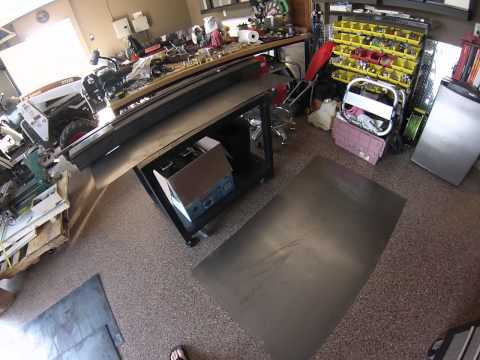 Grizzly G9729 3-in-1 Mill/Lathe Table Beginning