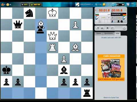 Blitz Chess #34 - Alekhine Defence - Do castle and keep your king safe