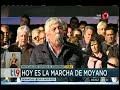 Hoy es la marcha de Moyano