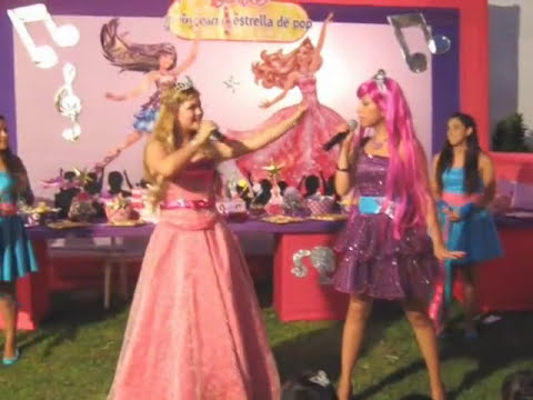 show infantil Barbie y La Estrella del Pop  - Recreolandia - Lima  - VIDEO 2