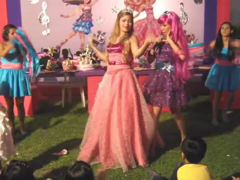 show infantil Barbie y La Estrella del Pop  Video 4