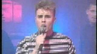 Take That on The Disney Club - Performing Why Cant I Wake Up With You - 1993