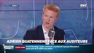 Adrien Quatennens répond aux auditeurs de RMC