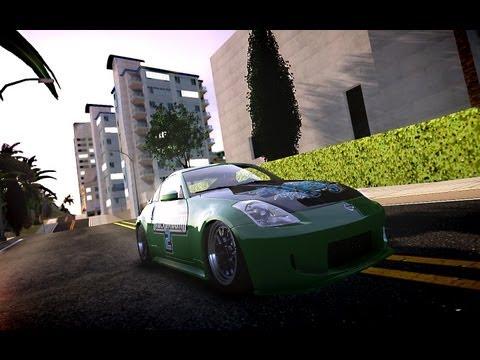 Nissan 350Z Underground 2 Style