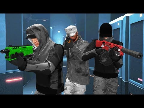 HACKING THE FBI HEIST! (GTA 5 DLC)