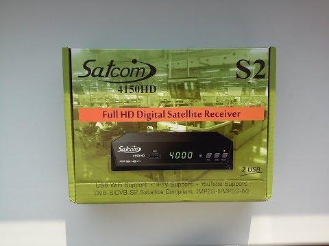 Обзор ресивера ► Satcom 4150 HD