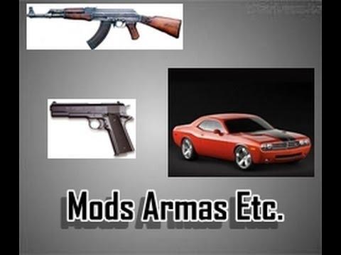 Minecraft-Mods.Armas.Avioes.Carros e Espadas.