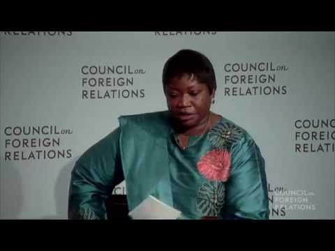 Fatou Bensouda on the International Criminal Court and Gender-Based Crimes