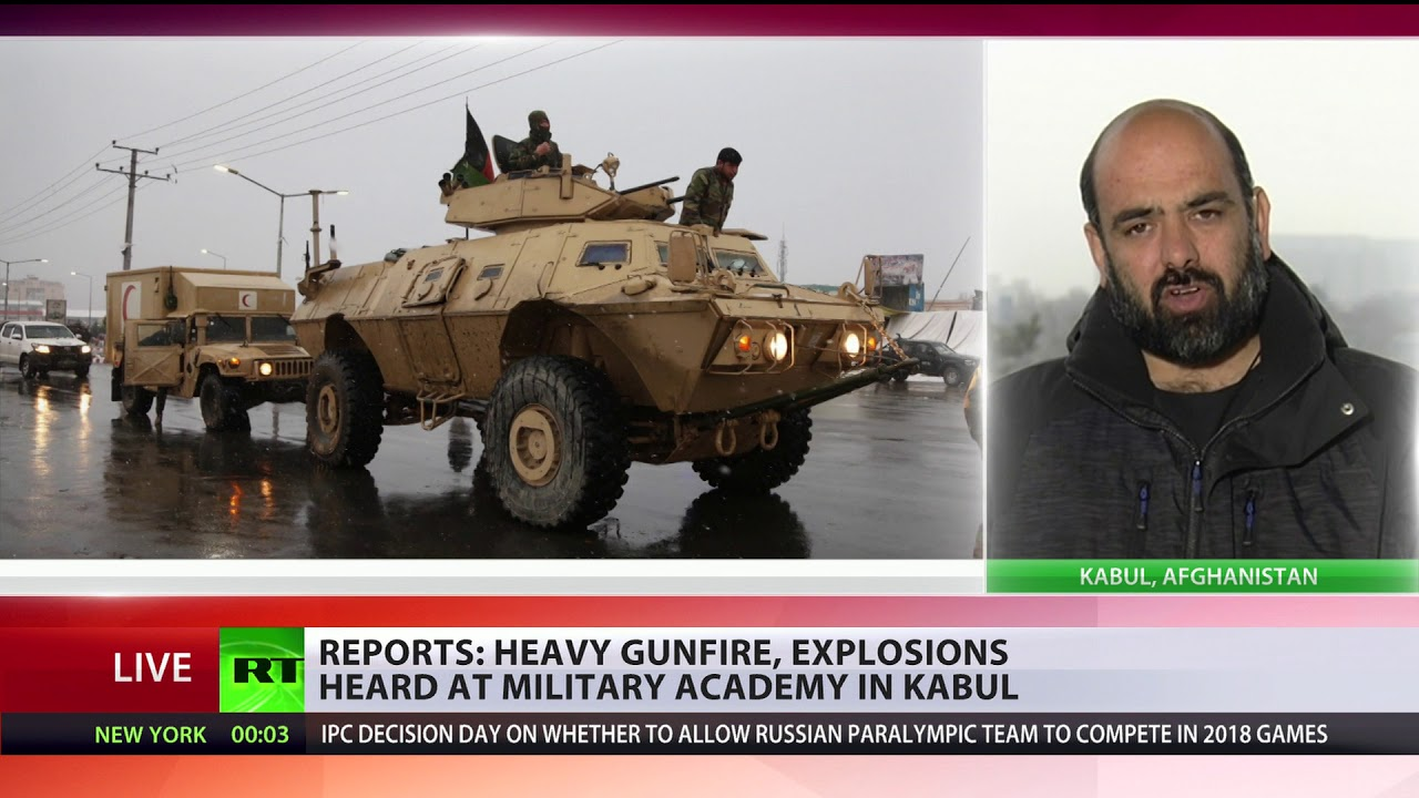 Explosions & gunfire: Military university is under attack in Kabul