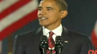 Boring Obama speech interrupted by Matt