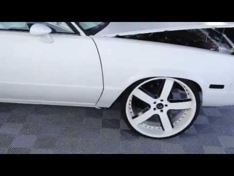 Swift white elcamino on forgiatos 24s by 12 with 8 inch lip Music Videos