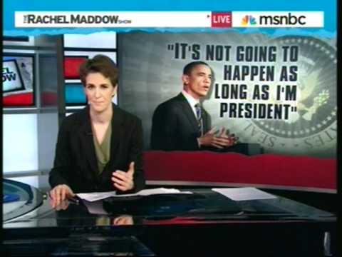 Rachel Maddow On Obama's Budget Speech