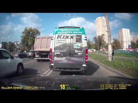 Пример съемки видеорегистратора Datakam G5 City PRO/MAX BF