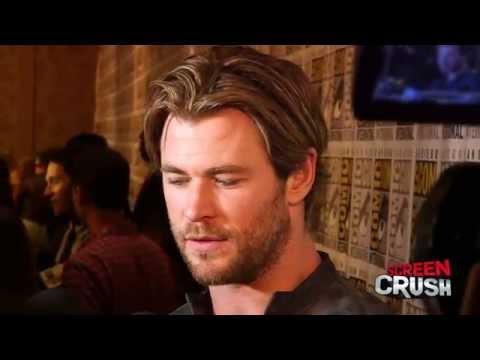 Chris Hemsworth Talks 'Thor 3' at Comic-Con 2014